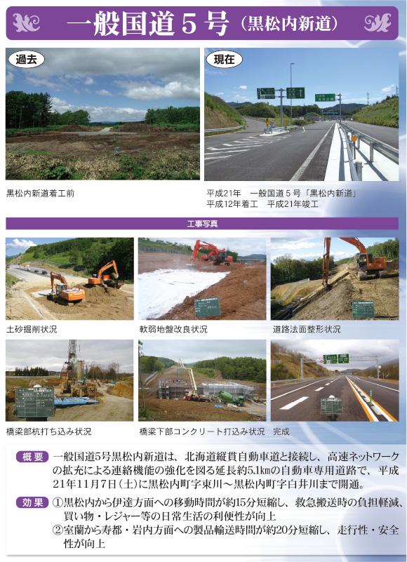 一般国道5号(黒松内新道)