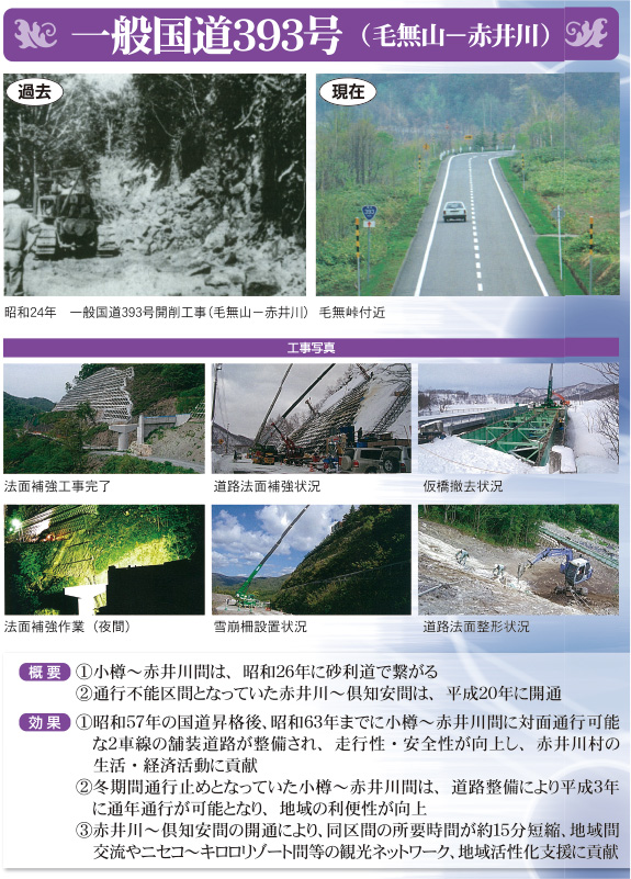 一般国道393号(毛無山-赤井川)